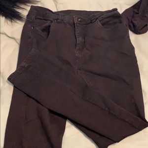 Jessica Simpson black mid Rise pants